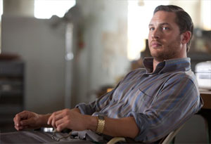 Tom Hardy as Eames in Inception