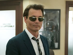 Johnny Depp as Paul Kemp in The Rum Diary