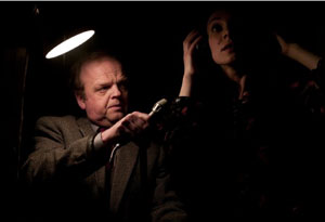 Toby Jones and Tonia Sotiropoulou in Berberian Sound Studio