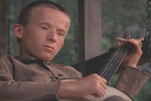 The banjo-playing boy in Deliverance. Diddle ding ding ding ding...