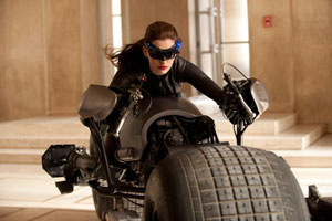 Anne Hathaway as Cat Woman in Christopher Nolan's The Dark Knight Rises