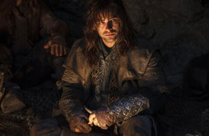Aidan Turner as Kili in The Hobbit: An Unexpected Journey