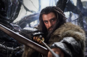 Richard Armitage as Thorin Oakenshield in The Hobbit: An Unexpected Journey