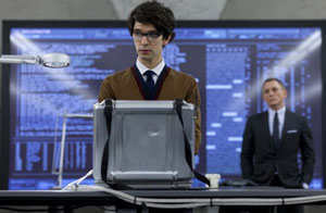Ben Whishaw as Q in Skyfall