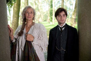 Janet McTeer and Daniel Radcliffe in The Woman In Black