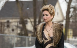 Jennifer Lawrence as Rosalyn Rosenfeld in American Hustle