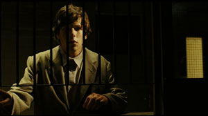 Jesse Eisenberg as Simon James in The Double