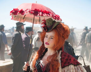 Helena Bonham Carter as Red in The Lone Ranger