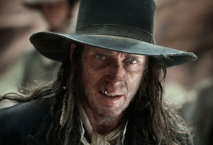 William Fichtner as bad guy Butch Cavendish in The Lone Ranger