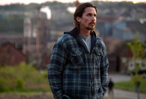 Christian Bale as Russell Baze in Out of the Furnace