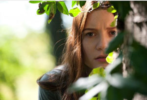 Mia Wasikowska as India Stoker in  Chan-Wook Park's Stoker