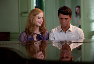 Nicole Kidman as Evelyn Stoker and Matthew Goode as Charlie in Stoker