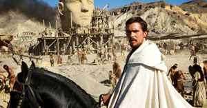 Christian Bale as Moses im Ridley Scott's Exodus: Gods and Kings
