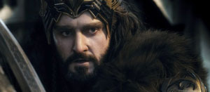 Richard Armitage as Thorin in The Hobbit: The Battle of the Five Armies
