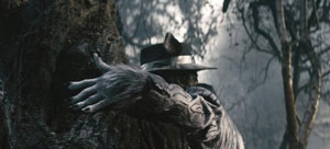 Johnny Depp as the Big Bad Wolf in Into The Woods