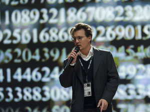 Johnny Depp as Will Caster in Transcendence