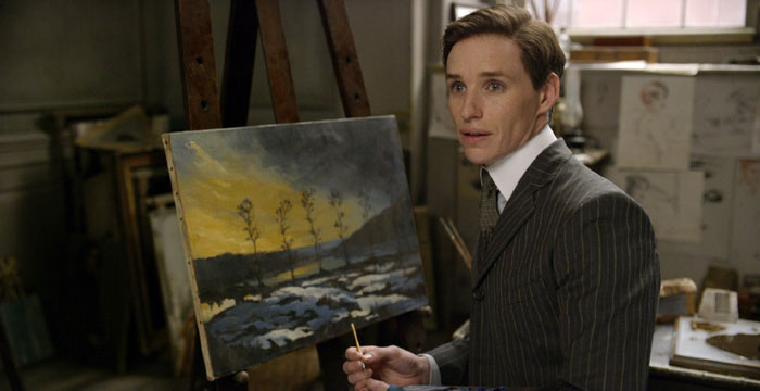 Eddie Redmayne as Einar Wegener in The Danish Girl