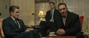 Taron Egerton and Tom Hardy in Legend