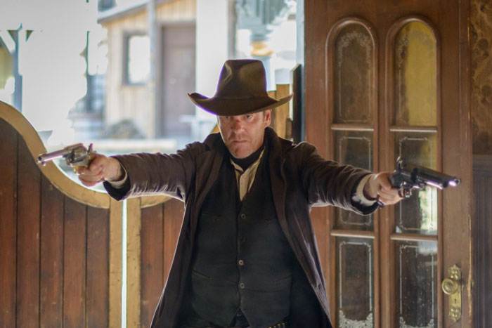 Kiefer Sutherland as John Henry Clayton in Forsaken
