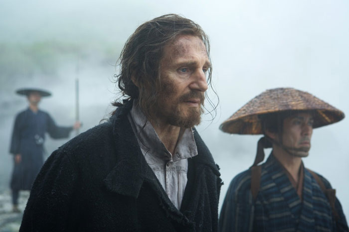 Liam Neeson as Ferreira in Silence