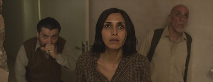 Narges Rashidi as Shideh in Babak Anvari's Under the Shadow