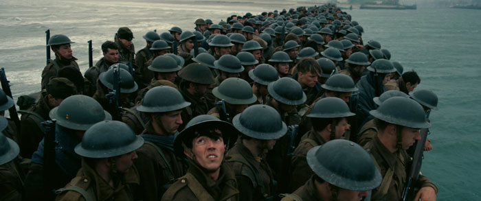 The queue from hell... Christopher Nolan's Dunkirk