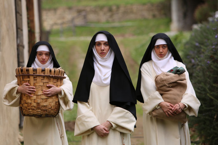 Audrey Plaza, Alison Brie and Kate Micucci in The Little Hours
