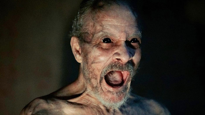 Bad Grandpa (David Pendleton) in It Comes at Night