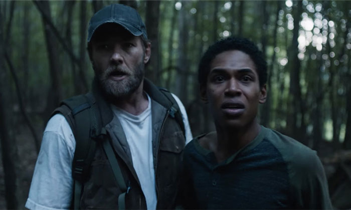 Joel Edgerton and Kelvin Harrison Jr in It Comes at Night