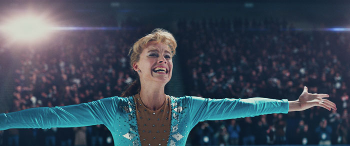 Margot Robbie as Tonya Harding in I,Tonya