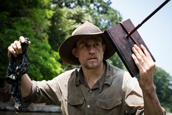 Charlie Hunnam as Percy Fawcett in The Lost City of Z