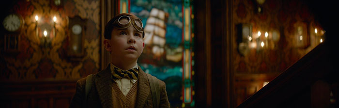 Owen Vaccaro as Lewis The Hlouse with a Clock in its Walls