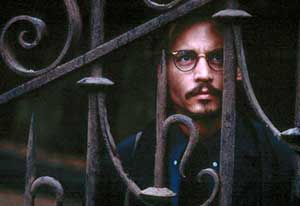 Johnny Depp ponders Satanic things