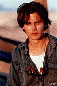 The fabulous Johnny Depp as Axel Blackmar in Arizona Dream