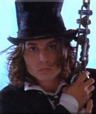Johnny spreads some happiness as Sam in Benny & Joon