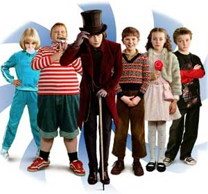 The Johnny Depp Archive: Charlie and the Chocolate Factory