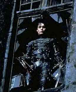 Johnny Depp as Edward Scissorhands