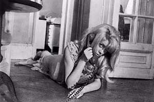 Hangin' on the telephone... Catherine Deneuve as Carol in Roman Polanski's Repulsion