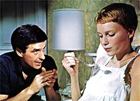 Rosemary and Guy Woodhouse in Rosemary's Baby