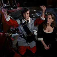 Ian Ogilvy and Hilary Dwyer in Witchfinder General
