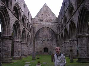 Stephen in Dunkeld Cathedral