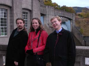 Ian, me, Stephen at Blair Castle