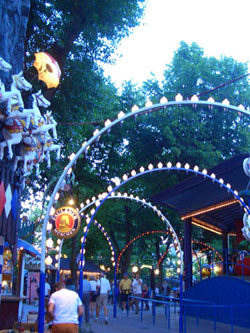 Lights in the Tivoli Gardens
