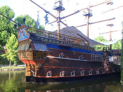 Pirate Ship in the Tivoli Gardens