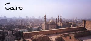 Cairo, as seen from the Old Fortress