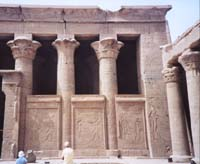 The columns of Edfu
