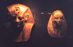 More gold masks - told you t here was a lot of gold in the museum...