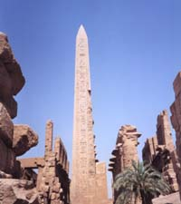 Queen Hatshepsut's obelisk at Karnak