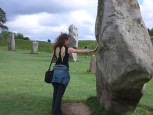 I commune with the powers in Avebury