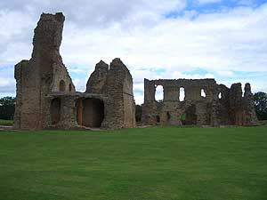 The ruins of Sherborne Old Castle